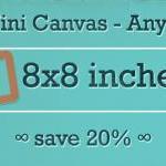 Any Three 8x8 Mini Canvas Prints