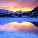 Icy Lake in Mountains - Fine Art Ph..