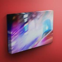 """Flashing Emergency Vehicle Light - Fine Art Photograph on Gallery Wrapped Canvas - 16x12"""" & more"""