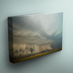 "Thunderstorm in Kansas - Fine Art Photograph on Gallery Wrapped Canvas - 16x12"" & more"