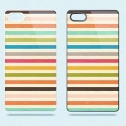 Colorful Stripes - Hard Cover Case for iPhone 4, 4S & more