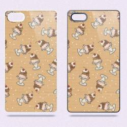 Ice Cream Sundae Soda Shop Vintage Retro 02 - Hard Cover Case for iPhone 4, 4S & more