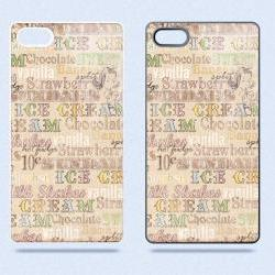 Soda Shop Vintage Retro Ice Cream Sundae '50s 01 - Hard Cover Case for iPhone 4, 4S & more