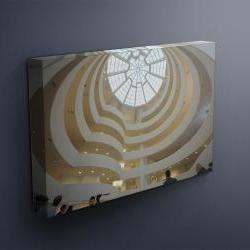 """Guggenheim Museum - Fine Art Photograph on Gallery Wrapped Canvas - 16x12"""" & more"""